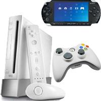 Ремонт игровых приставок XBox, Wii, PSP